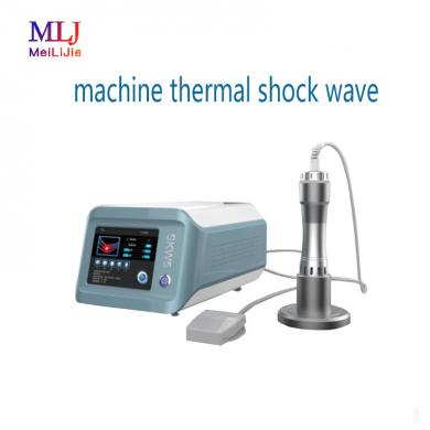 New type extracorporeal shock wave machine thermal shock wave therapy physiotherapy machine shock wave physiotherapy equipment
